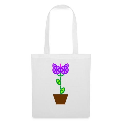 The Flower Of Life - Sacred Plants. - Tote Bag