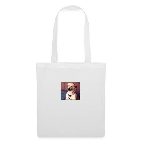perro riendo - Bolsa de tela