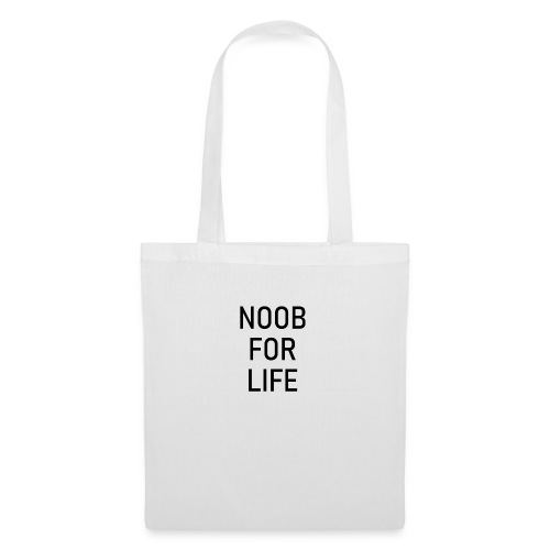 Noob for Life - Tygväska