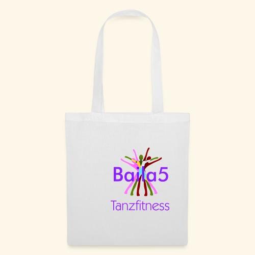 Baila5 Tanzfitness violet - Stoffbeutel