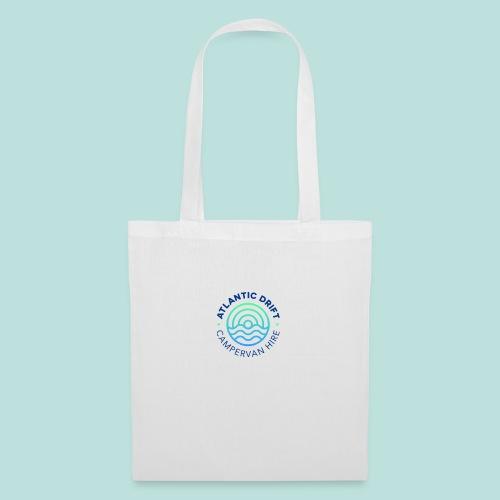 Atlantic Drift Logo (Blue) - Tote Bag