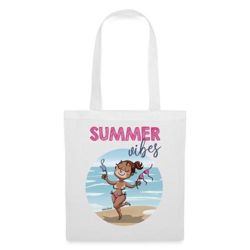SUMMER vibes - Bolsa de tela