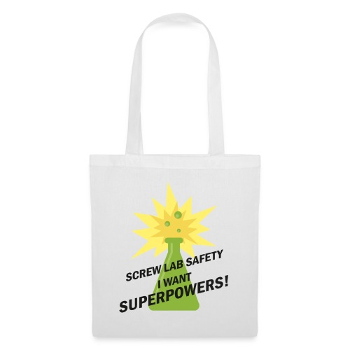 I WANT SUPERPOWERS! 🧪 - Tote Bag
