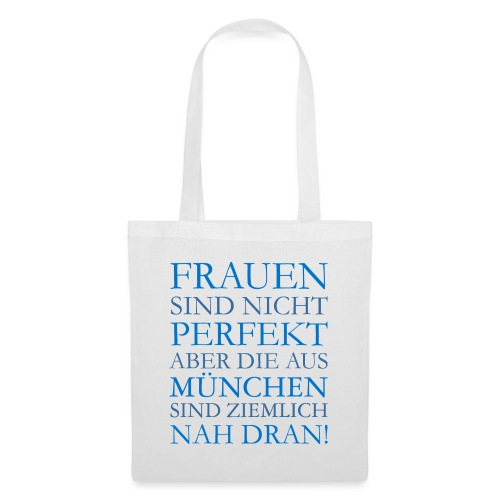 Frauen aus München (Blau) - Stoffbeutel