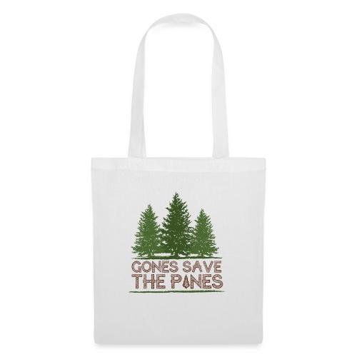 Gones save the pines - Sac en tissu
