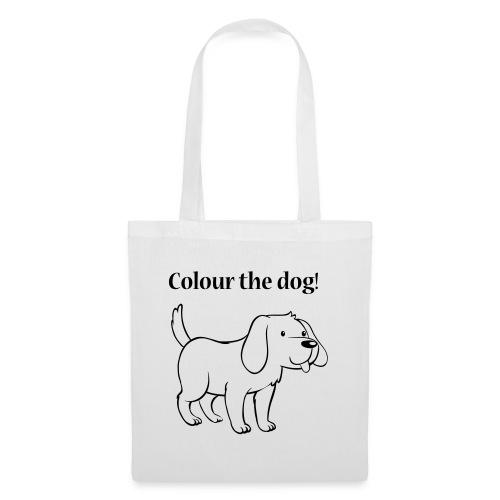 Colour the dog! - Tote Bag