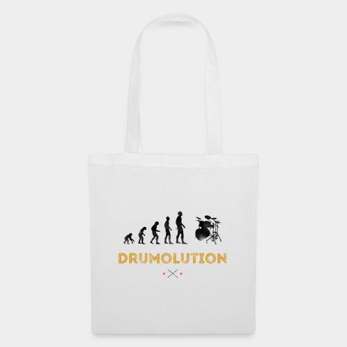Evolution Drummer Schlagzeuger Drumolution - Stoffbeutel