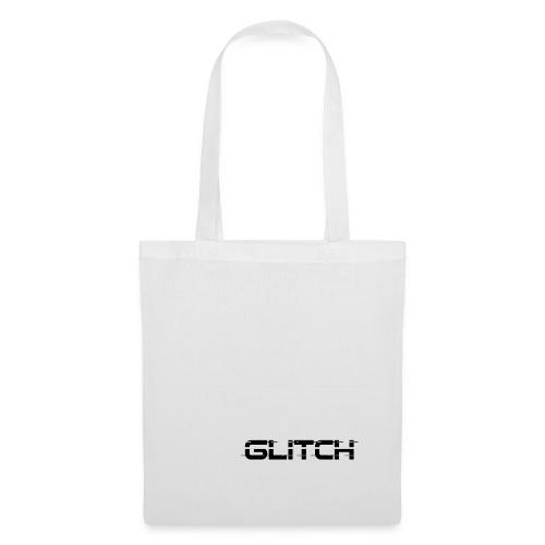 LOGO GLITCH - Borsa di stoffa