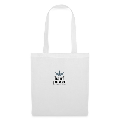 Hanf Power Logo - Stoffbeutel