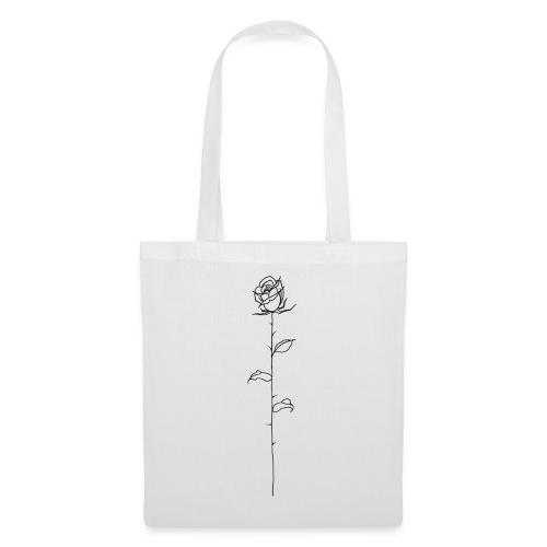Black Rose - Tote Bag
