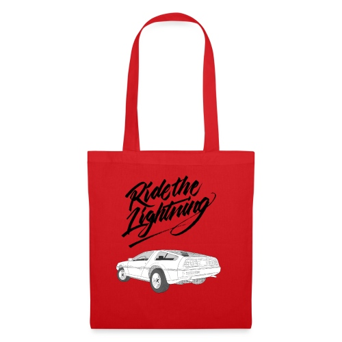 Delorean – Ride The Lightning - Stoffbeutel
