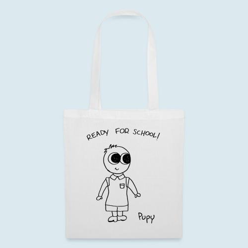 Pupy: ready for school! boy - Borsa di stoffa