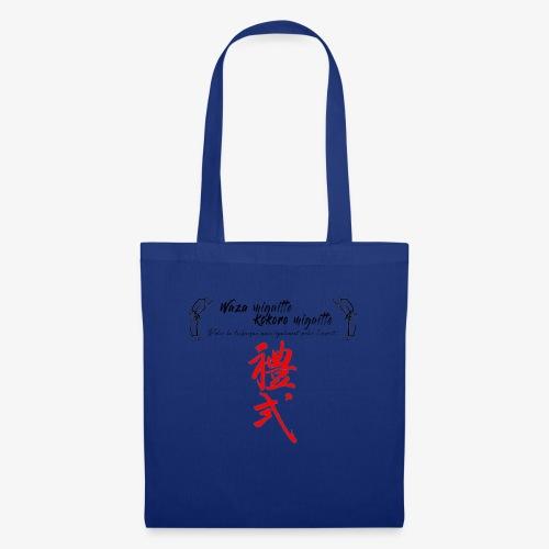 'Waza migaitte, Kokoro migaitte'' - Tote Bag