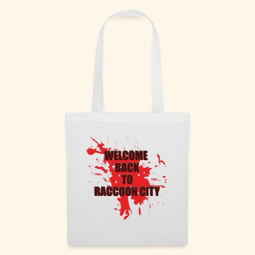Welcome Back to Raccoon City TEXT 01 - Tote Bag