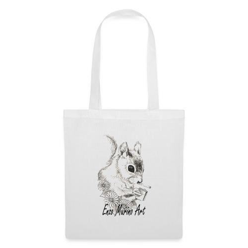 Ecureuil la clope - Tote Bag