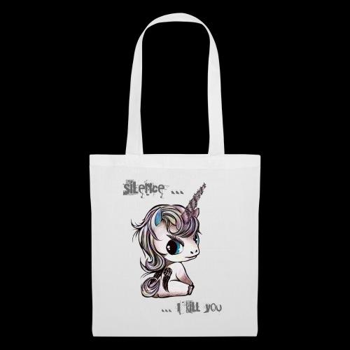 lucille -the walking unicorn - Stoffbeutel