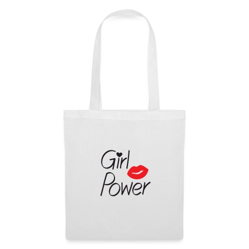 girl power - Sac en tissu