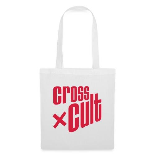 Cross Cult Logo Rot - Stoffbeutel