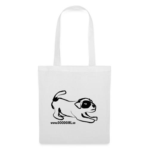 Vit Puppy Väskor - Tygväska