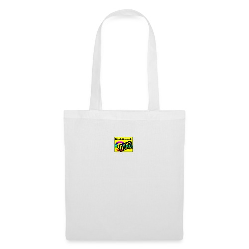 I am a woman in sound - rainbow - Tote Bag