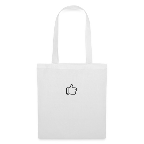 Like button - Tas van stof