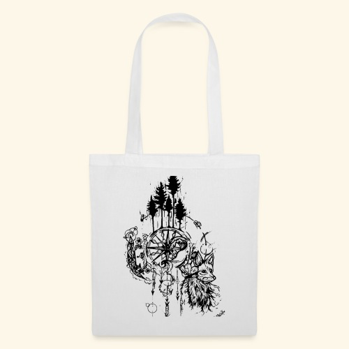 renard nature - Tote Bag