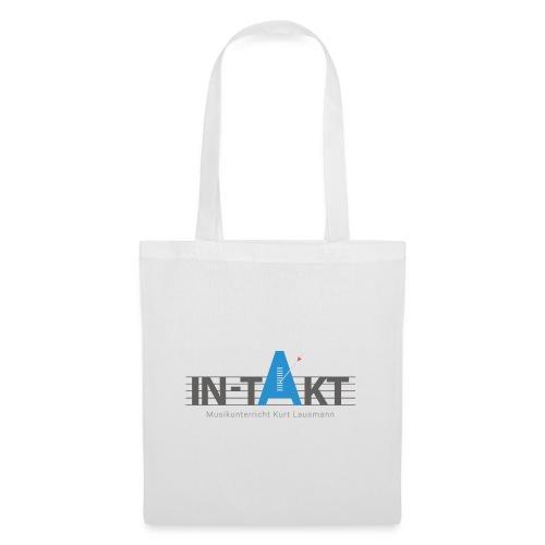 IN-TAKT Musikunterricht Logo - Stoffbeutel