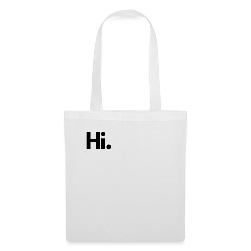 Social Fashion - 'Hi' - Tote Bag