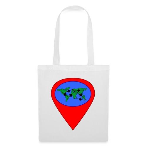 map - Bolsa de tela