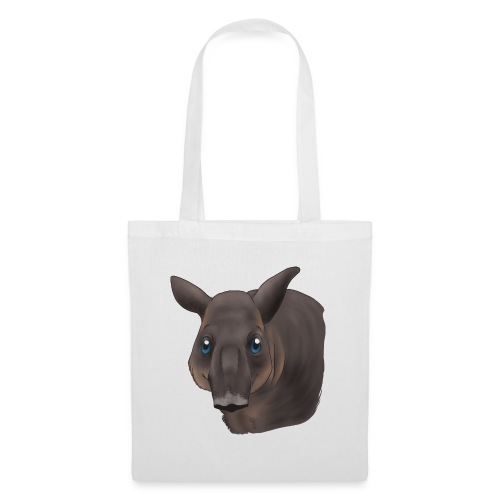 Tapir Portrait - Stoffbeutel
