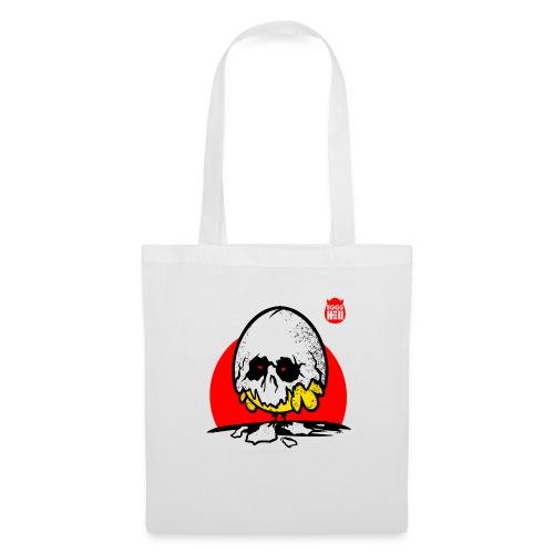 Eggshell skull - easter egg - Tote Bag