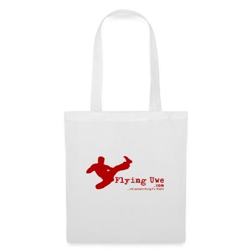 flyinguwe logo vektor kopie - Stoffbeutel