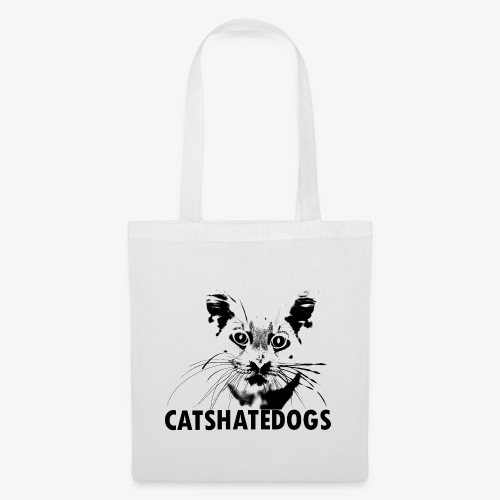 CATS HATE DOGS UNDER - Tote Bag