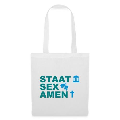 Staatsexamen / Staat Sex Amen - Stoffbeutel
