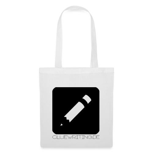 Clue Writing Logo inkl - Stoffbeutel