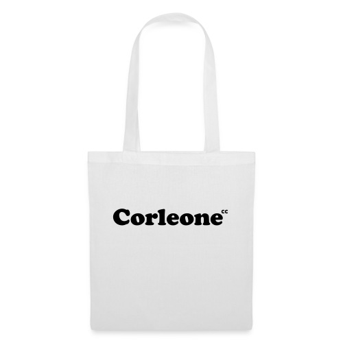 schrift corleone - Stoffbeutel