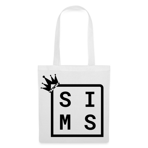 Sims logo black - Tote Bag