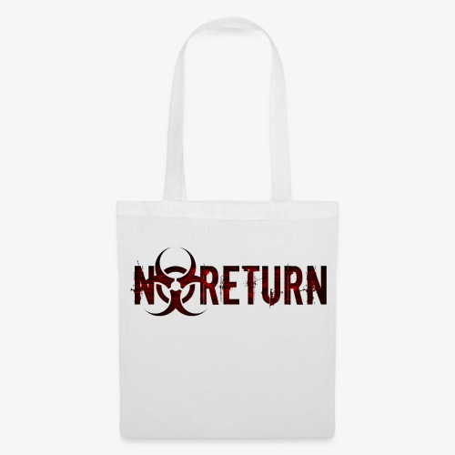 NoReturn - Farblogo des Endzeit Rollenspiel - Stoffbeutel