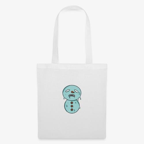 Bonhomme de neige qui fond - Tote Bag