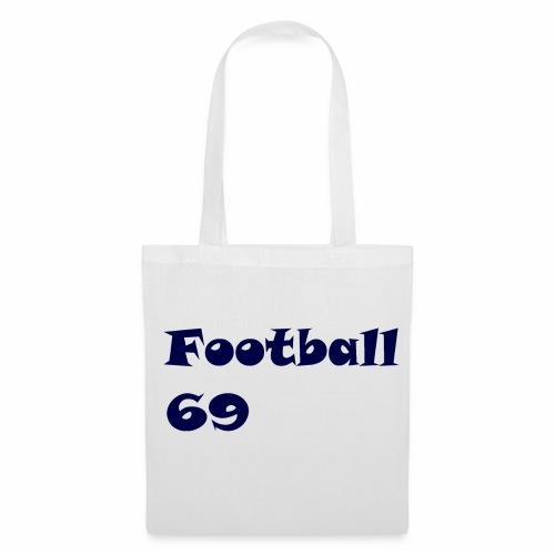Fußball Football 69 outdoor T-shirt blue - Stoffbeutel