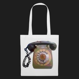 Grey Telephone - Tote Bag