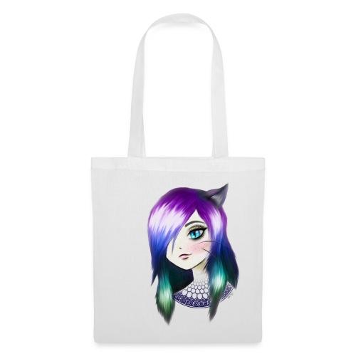 manga neko girl - Tote Bag