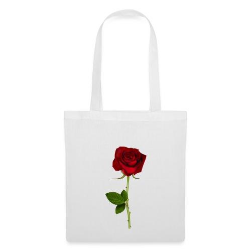 Rød Rose - Mulepose