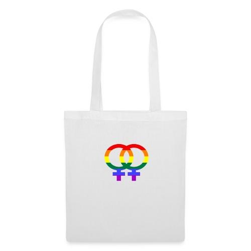 Gay Women Sign - Stoffbeutel