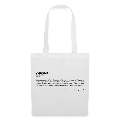 Conscivist Definition - Tote Bag