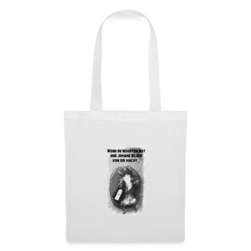 Feel Free White Dog Collection - Stoffbeutel