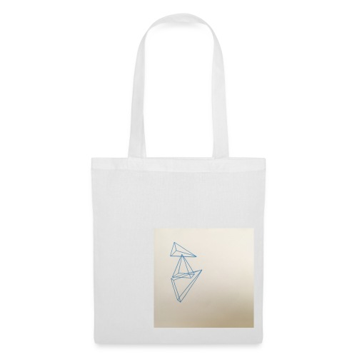 triangles bleu - Tote Bag