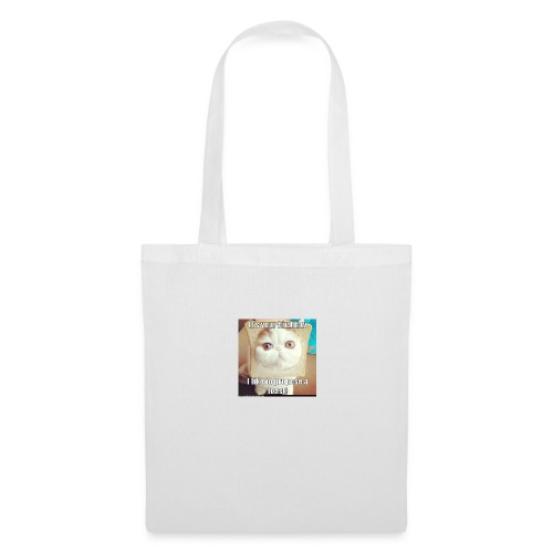 grappige kat - Tas van stof