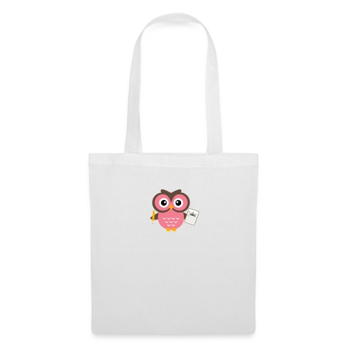 Back to School Owl - Tote Bag