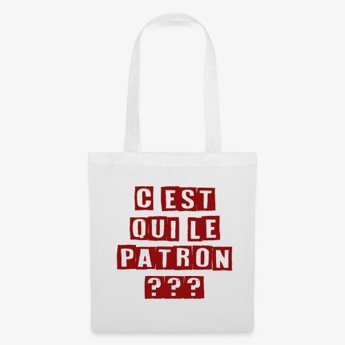Le Patron - Tote Bag